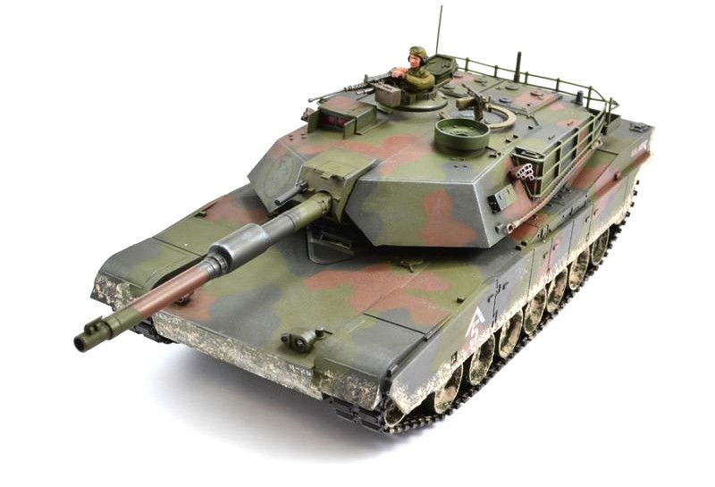 RC tank Hobby Engine Abrams M1A1 Premium 1:16 2,4 GHz RTR
