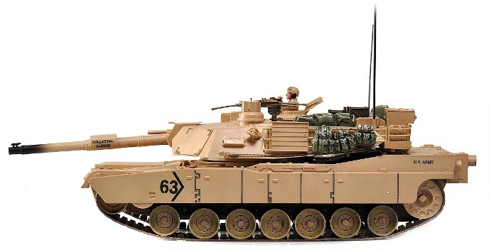 RC tank Hobby Engine: Abrams M1A2 1:16 2,4 GHz RTR