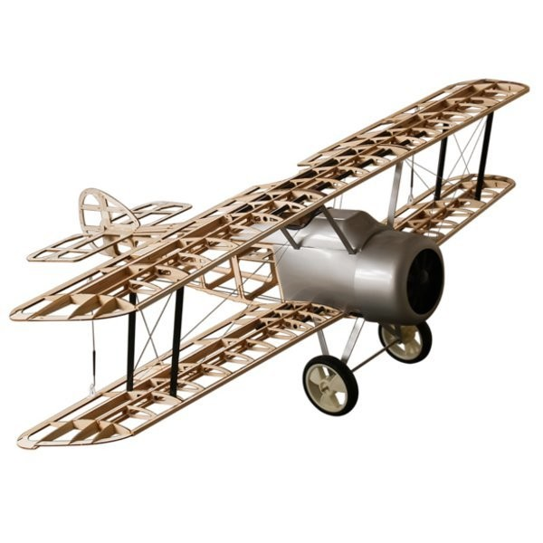 DW Hobby: Airplane Sopwith Camel Balsa KIT (1520mm) + Engine + ESC + 4x Servo
