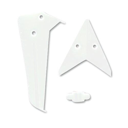 Náhradné Diely Syma S5 Vertikálny a horizontálny biely stabilizátor - S5-02A