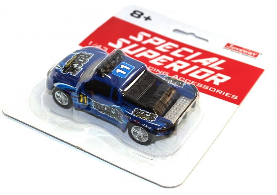 Joysway Špeciálne pretekárske auto pre autodráhu Superior (modré)