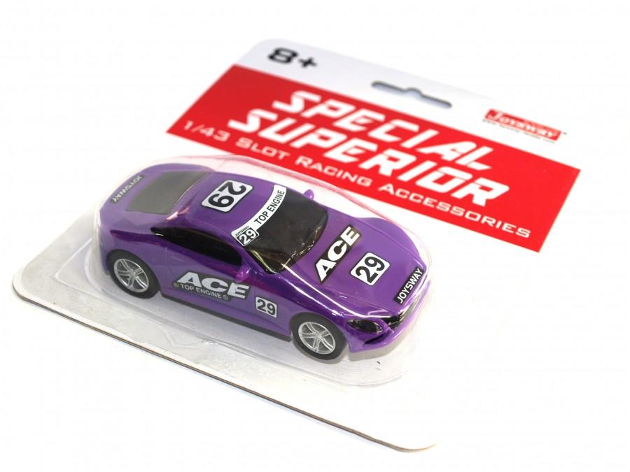 Joysway Špeciálne pretekárske auto pre autodráhu Superior ACE (fialový)