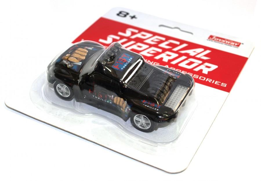 Joysway Špeciálne pretekárske auto pre autodráhu Superior (čierne)