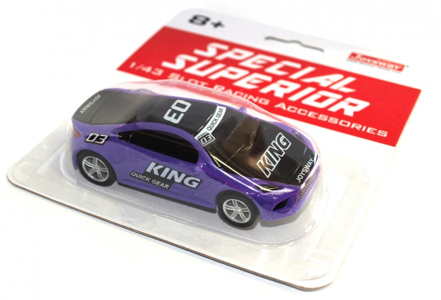 Joysway Špeciálne pretekárske auto pre autodráhu Superior King (fialové)