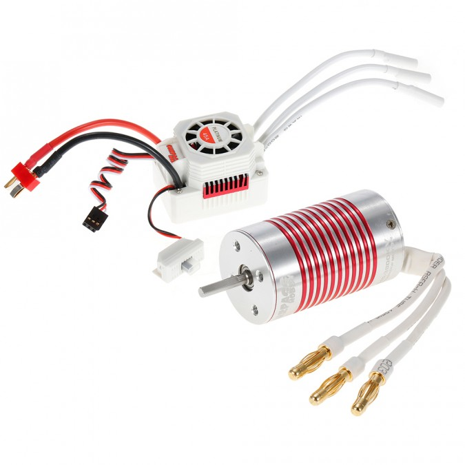 Brushless motor Rocket Platinum 2845 3930KV + regulátor ESC 45A