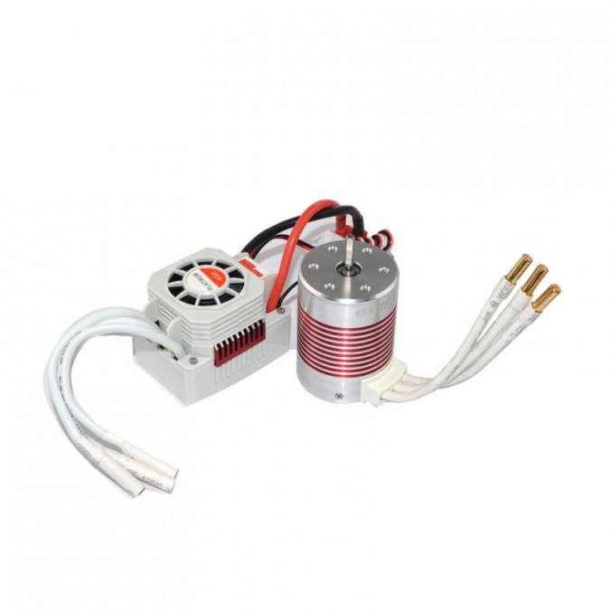 Brushless motor Rocket Platinum 3650 3500KV + regulátor ESC 45A