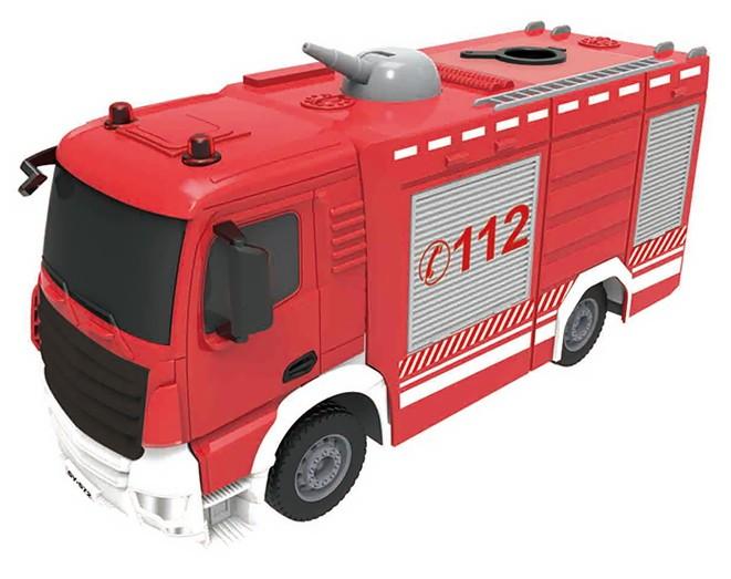 Double Eagle požiarnické auto na diaľkové ovládanie 1:26 2,4 GHz