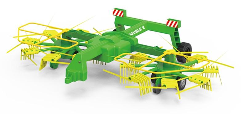 Double Eagle Dvojité rotačné hrable 1:16 RTR na traktor