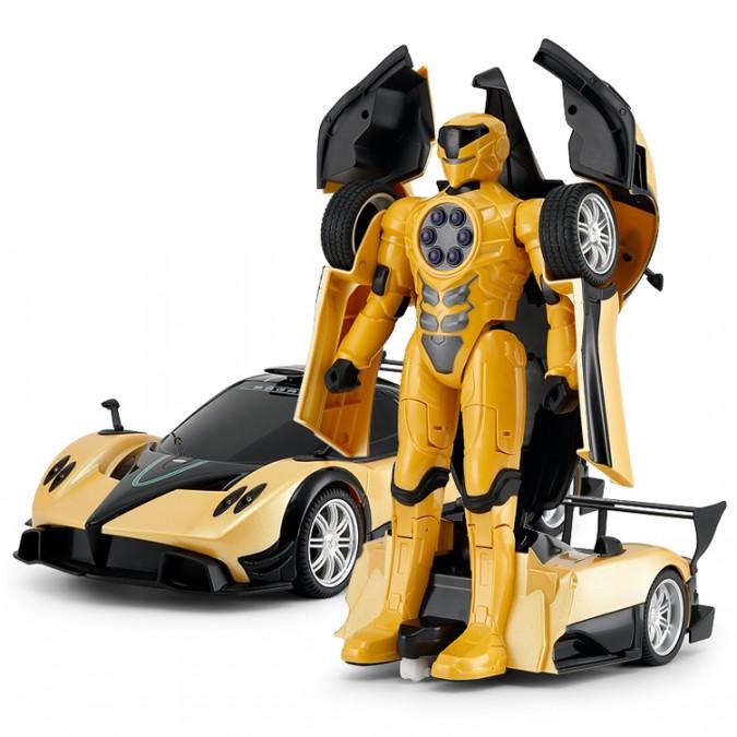 RC robot Pagani Transformer RASTAR 1:14 2,4 GHz RTR - žltá