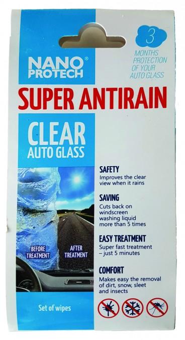 Nanoprotech Super AntiRain - neviditeľný stierač čelného skla