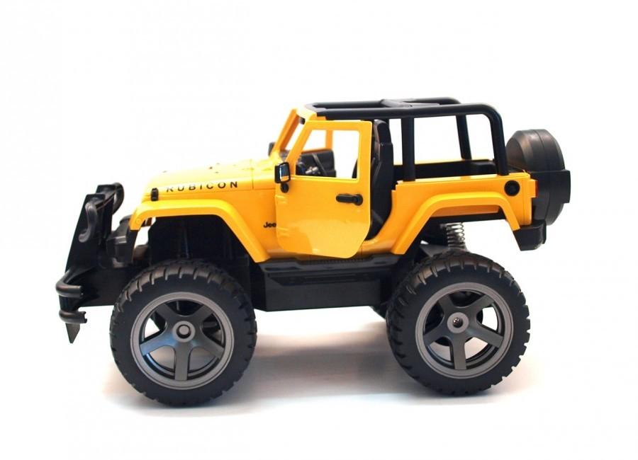 RC auto Double Eagle: Jeep Wrangler s otvorenou strechou 1:14 2.4GHz - žltá