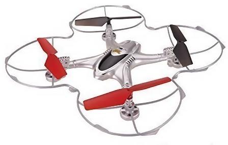 MJX X300A RTF (FPV kamera, 2,4GHz, 4CH, gyroskop, 24cm) - strieborná