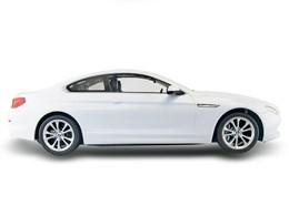 BMW 6 RASTAR 1:14 (batéria, sieťová nabíjačka) - biela