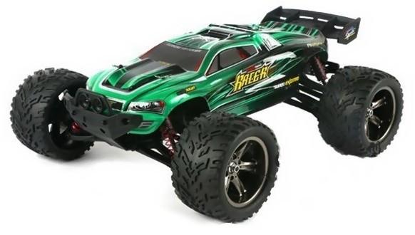 RC auto XLH: Truggy Racer 2WD 1:12 2.4GHz RTR - zelená