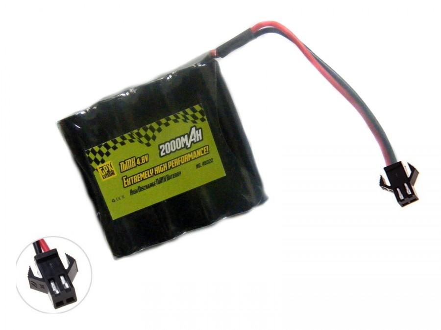GPX 2000mAh 4,8 V NiMH SM - plochý