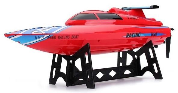 Motorový čln WL911 2.4GHz RTR - červená