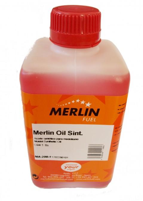 Merlin Syntetický olej 1 liter