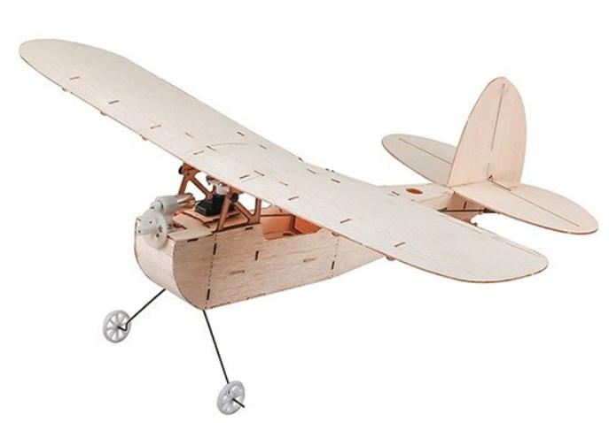 RC lietadlo DW Hobby Micro GALILEO s motorom a vrtuľou - balsa