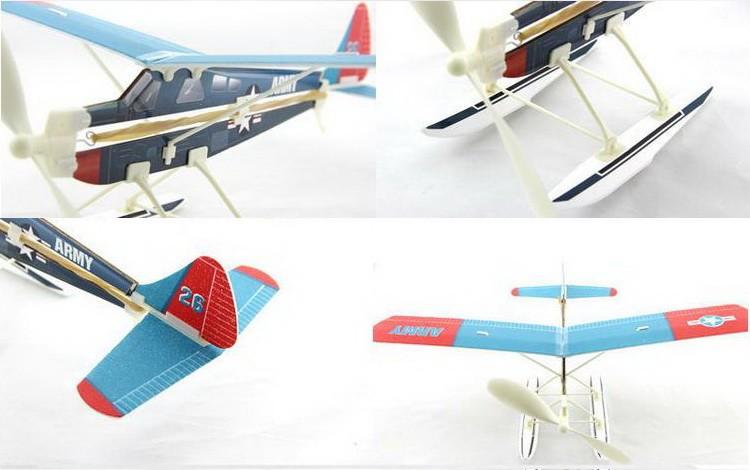 ZT Model Aviator-Beaver 450 mm klzák s gumovým pohonom
