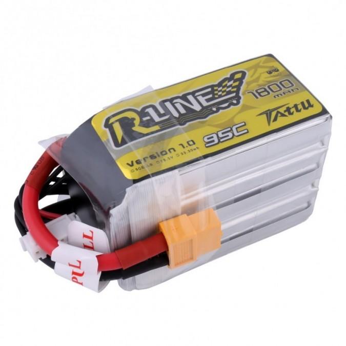 Batéria 1800mAh 18.5V 95C TATTU R-Line Gens Ace