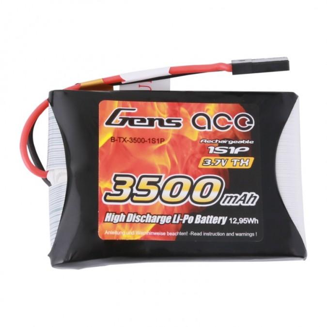 3500mAh 3.7V TX 1S1P Lipo JR Gens Ace