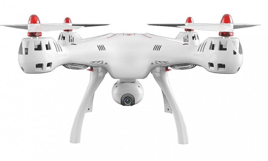 Syma X8SW-D (kamera FPV, 2,4 GHz, funkcia vznášania a návratu, pohyblivá kamera, 50 cm)