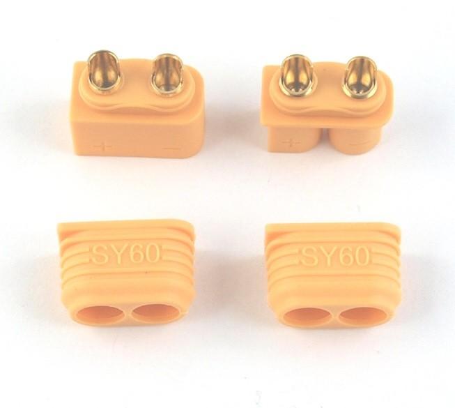 GPX Extreme Pár konektorov XT60 + s krytom