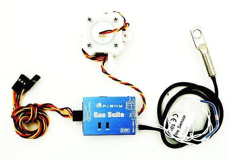 FrSky Gas Suite 4-10V 19g multifunkčné zariadenie