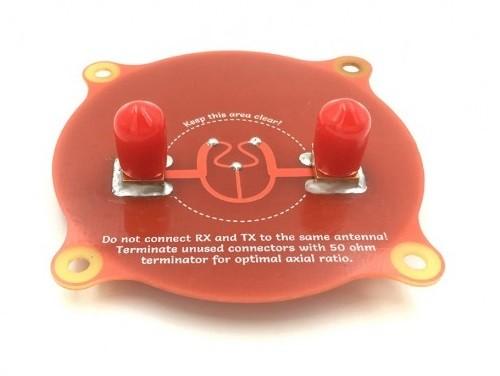 Anténa s trojitým kanálom SMA Samec 5.8 GHz 9.4dBi