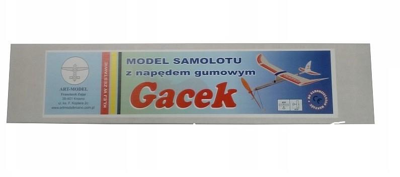 HM Hádzadlo Gacek na gumový pohon (rozchod 455 mm)