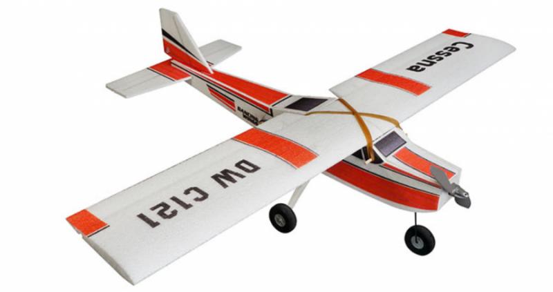 RC lietadlo DW Hobby: Cessna Motor+ESC+Servo