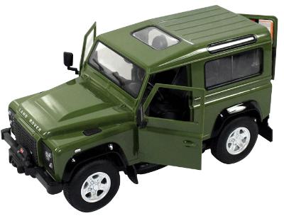 RC auto na ovládanie Rastar Land Rover Defender 1:14 RTR - zelená