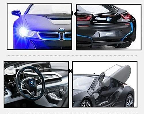RC auto na ovládanie BMW i8 RASTAR 1:14 RTR  - čierna