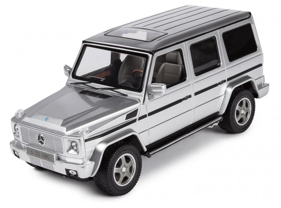 RC auto na ovládanie Rastar Mercedes-Benz G55 1:14 RTR - strieborná