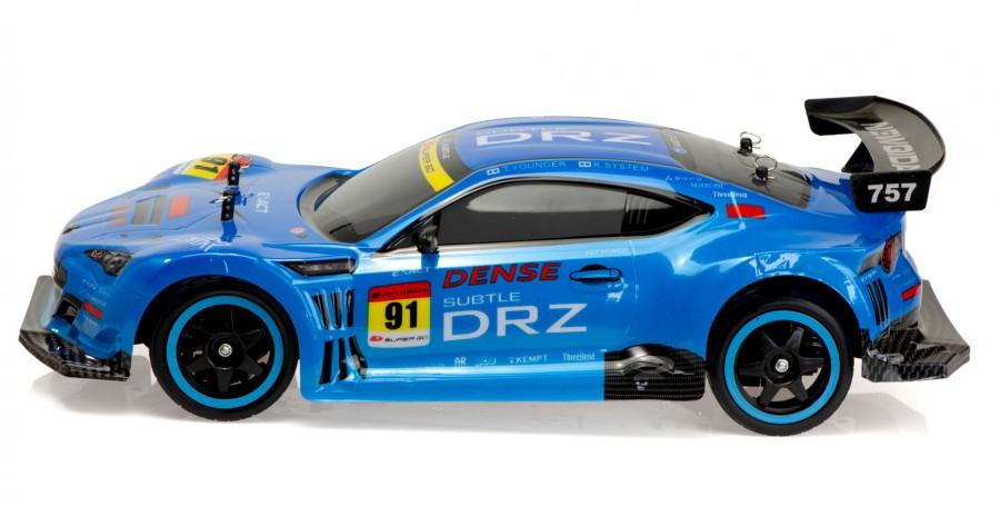 rc auto nqd 4wd drift racing 1 10 2 4ghz 40 km h modr. Black Bedroom Furniture Sets. Home Design Ideas