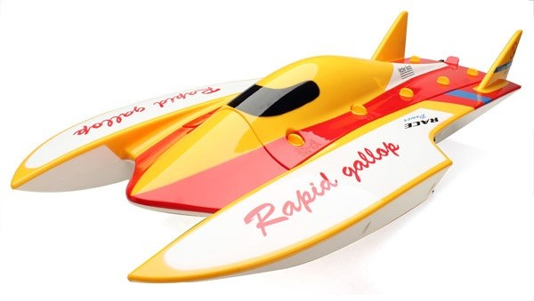 RC Motorový čln WL913 2,4 GHz RTR (62 cm, rýchlosť do 50 km / h, bfushless motor)