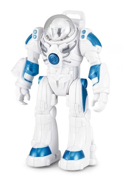 Robot Spaceman RASTAR 1:32 (svetlá a zvuky, pohyblivé ramená) - biela