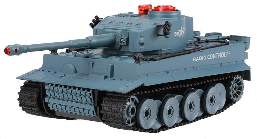 UF: German Tiger 2.4GHz RTR 1:24 - Sivá
