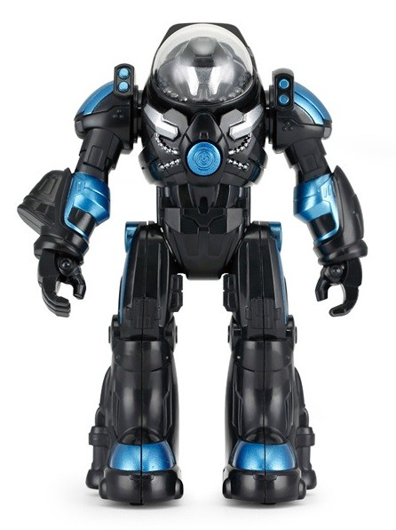 Robot Spaceman RASTAR 1:32 (svetlá a zvuky, pohybujúce sa ruky) - čierny