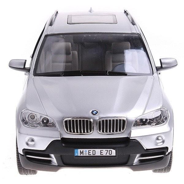 RC auto BMW X5 1:14 RTR RASTAR - strieborné