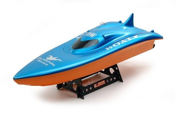 RC loď na ovládanie Volvo Racing Boat (70 m, 35 km/h) - verzia bez vysielača !!!