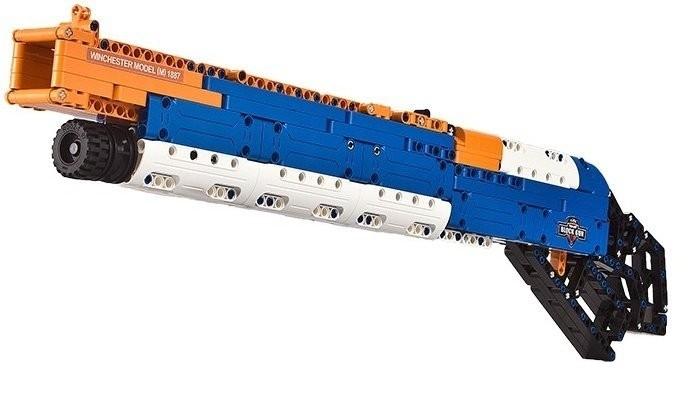 Double Eagle puška Winchester, strieľa penové šipky - Stavebnica DE (C81004W)