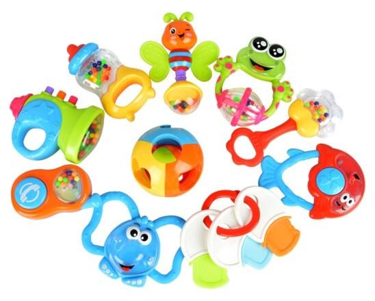 Sada 10 detských hračiek