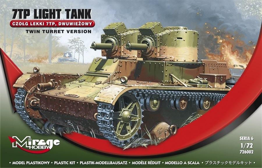 MIRAGE: 7TP poľský lekky tank - dvojvežový