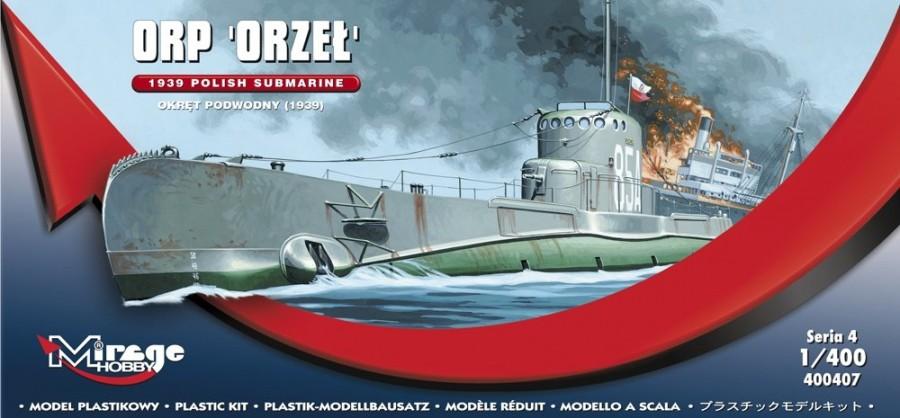 MIRAGE Poľská ponorka ORP