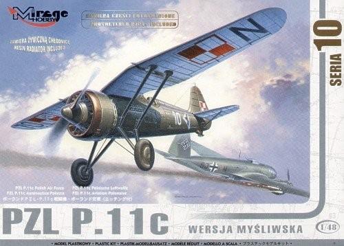 MIRAGE PZL P.11c Poľská lovecká verzia