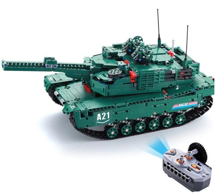 RC stavebnica na diaľkové ovládanie Double Eagle Tank (C61001W)