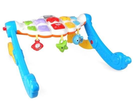 MZ MODEL: Multifunkčný vzdelávací stojan pre dojčatá 6M +