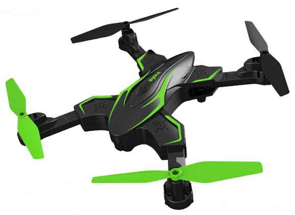 RC dron na ovládanie Syma X56W-P, HD kamera, RTR - zelená