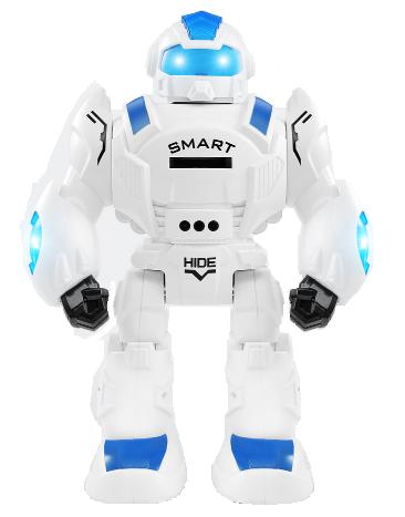 Feng Yuan Robot Iron Soldier (strieľa s diskom) - Modrá